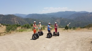 Try segway Lysos Valley adventure