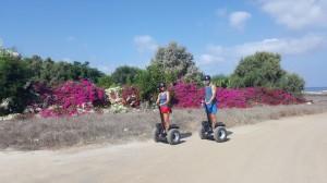 Chorakas Coastal Trysegway tour paphos Cyprus