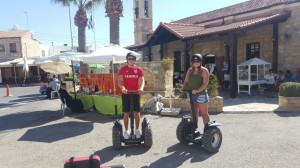 Trysegway Tour  Kouklia Village tour