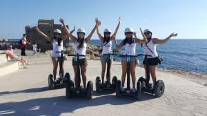 Try segway Coastal Curise tour Paphos