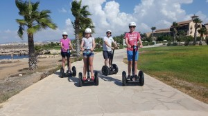 Try segway Coastal Curise tour Paphos light house