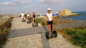 trysegway coastal run    Tour paphos