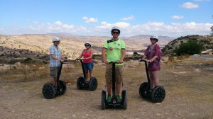 Kouklia village adventure Trysegway